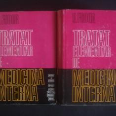 O. FODOR - TRATAT ELEMENTAR DE MEDICINA INTERNA 2 volume - Carte Diagnostic si tratament