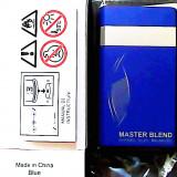 BRICHETA DUNHILL MASTER BLEND (ALBASTRA) -METALICA -ANTIVINT-PRODUSELE SUNT NOI - Bricheta Zippo, Tip: Moderna (1970 -acum)