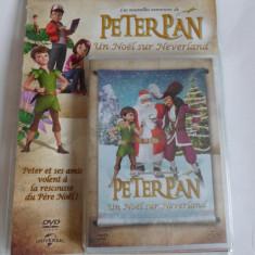 Film animatie PETER PAN - CRACIUNUL IN NEVERLAND - Franceza (Nou, Sigilat), DVD