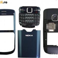 Carcasa originala Nokia C3 albastra