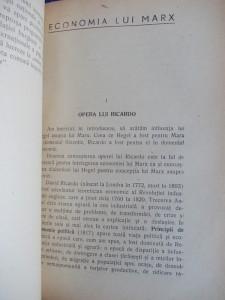 MAX BEER - KARL MARX * VIATA SI OPERA SA - TRADUCERE GEORGE CONSTANT - 1945