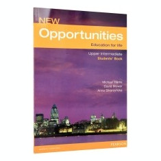 New Opportunities Upper Intermediate Student's Book - Certificare