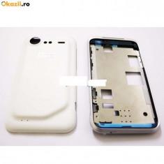 Carcasa originala HTC Incredible S G11 alba