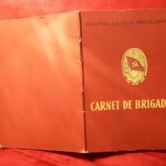 Carnet de Brigadier, numerotat - Diploma/Certificat