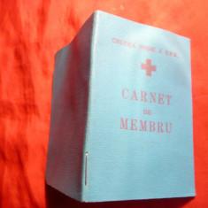 Carnet Membru - Crucea Rosie, numerotat, 1959 - Diploma/Certificat