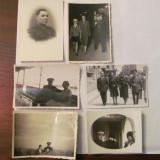 CY - Set 6 fotografii vechi cu militari romani - Fotografie veche