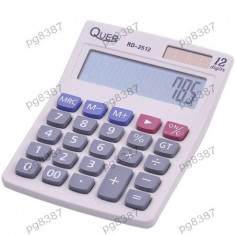 Calculator electronic de birou, 12 digiti, Quer RD-2512-400444 - Calculator Birou