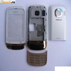 Carcasa Nokia C2-02 / PRODUS NOU / ORIGINAL