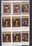 Corneliu Baba pictura ,nr lista 1085 ,bloc de 4 ,Romania., Nestampilat