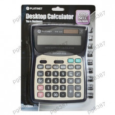 Calculator electronic de buzunar, 12 digiti, Platinet Business-400448