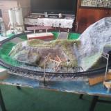 Diorama trenulet, actiune caritabila - Macheta Feroviara, 1:87, Altele