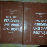 Evreii din Romania intre anii 1940-1944 vol.III partea a IIa si I perioada unei mari restristi - Istorie