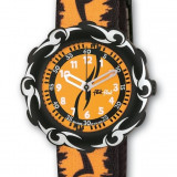 Swatch Flik Flak Orange Tribal nou cu garantie