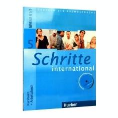 Schritte International 5 (B1/1 - Kursbuch + Arbeitsbuch + CD Audio) - Curs Limba Engleza