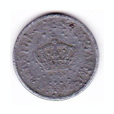 1) Mihai I. 2 LEI 1941 cu defect de batere, umflaturi pe suprafata monedei - Moneda Romania