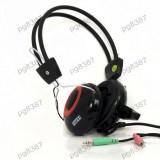Casca audio cu microfon, Jack 3,5mm, Stylish, Intex - 401032