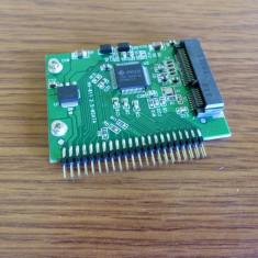 """MSATA Mini PCI-E SSD la 2.5"""" inch 44Pin IDE"""