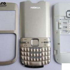 Carcasa Nokia C3 calitatea A aurie