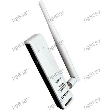 Adaptor Wi-Fi pe USB, TP-Link 4DBI B/G/N TL-WN722N, cu antena - 401027