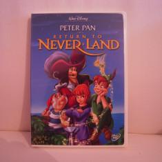 Vand dvd desene  Peter Pan-Return To Never Land,sistem NTSC,original,raritate!, Engleza, disney pictures