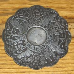Suport pahar argint antic, Tacamuri