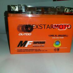 BATERIE / ACUMULATOR MOTO - SCUTER ATV 12V(VOLTI) 6.5A (AMPERI) GEL - Baterie Moto
