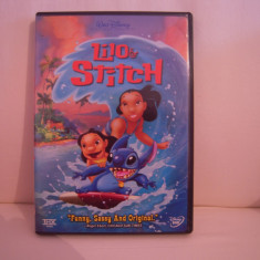 Vand dvd desene animate Lilo&Stich, sistem NTSC, original, raritate! - Film animatie disney pictures, Engleza