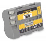 PATONA | Acumulator compatibil NIKON EN-EL3e ENEL3 ENEL3e EN EL3 EL3e D100SLR, Dedicat