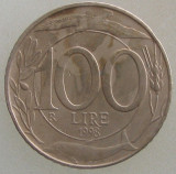 ITALIA KM#159 - 100 Lire 1998