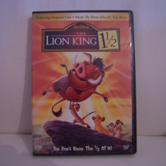 Vand dvd desene animate Lion King 1 1/2, pe 2 dvd, sistem NTSC, original, raritate! - Film animatie disney pictures, Engleza