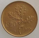 ITALIA KM#97.2 - 20 Lire 1979