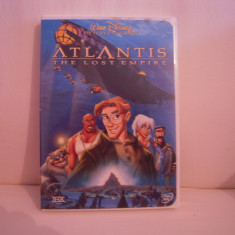 Vand dvd desene animate Atlantis-The Lost Empire, sistem NTSC, original, raritate! - Film animatie disney pictures, Engleza
