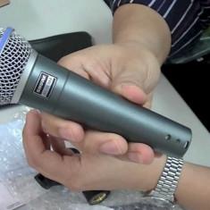 Microfon Shure Beta 58A cu fir / Microfon pentru spectacole cu fir Shure Beta 58A / Microfon karaoke Shure Beta 58A, Shure Incorporated