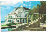 % carte postala (ilustrata)-CONSTANTA-Restaurantul Cazino, Necirculata, Printata
