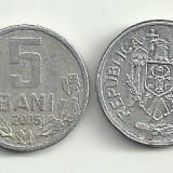 MOLDOVA 5 BANI 2005 [3]  livrare in cartonas