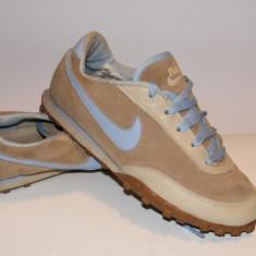 Adidasi Nike Pa3n - Adidasi dama Nike, Culoare: Bej, Marime: 36.5, Piele naturala