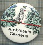1953 INSIGNA - AMBLESIDE GARDENS - REGATUL UNIT AL MARII BRITANII -starea care se vede