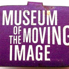 T2. INSIGNA CLIPS SUA VECHE DE REVER MUSEUM OF THE MOVING IMAGE CINEMA FILM **, America de Nord