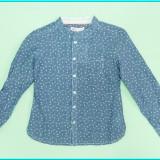 NOUA → Bluza bumbac, maneca in 2 dimensiuni, TEX → fetite | 4-5 ani | 104-110 cm