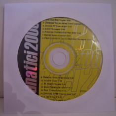 Vand cd audio Fanatici 2000, original, raritate!-fara coperti - Muzica Dance cat music