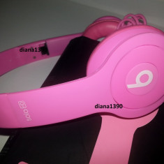 Casti Monster BEATS Solo From DR. DRE Monster Beats by Dr. Dre, Casti Over Ear, Cu fir, Mufa 3, 5mm, Active Noise Cancelling