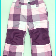 DE FIRMA _ Pantaloni iarna, caldurosi, impermeabili, H&M _ fetite | 18 - 24 luni, Marime: Alta, Culoare: Roz, Fete