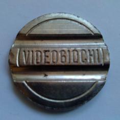 Jeton video jocuri RIDOLFI - Italia anii '90 ( 1 ) - Jetoane numismatica