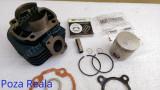 Kit Cilindru / Set motor + Segmenti + Piston Scuter Malaguti F10 / F12 / F15 / Centro / Ciak ( 80cc - racire aer - W Standard)