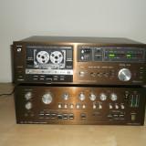 Casetofon Deck Dual C 820 si amplificator Dual CV 1700, 121-160 W