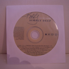 Vand cd audio Kelly Rowland-Simply Deep, original, raritate!-fara coperti - Muzica Dance Altele