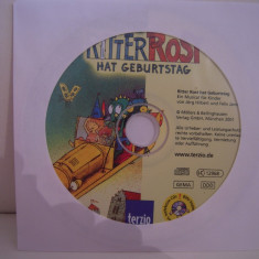 Vand cd audio Ritter Rost Hat Geburstag, original, raritate!-fara coperti - Muzica Pop Altele
