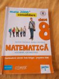 MATEMATICA  ,CLASA A VIII A PARTEA  VOL 1 +2   , ANTON NEGRILA ,MARIA NEGRILA ., Clasa 8