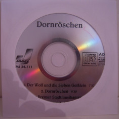 Vand cd audio Dornroschen, original, raritate!-fara coperti - Muzica Pop Altele