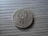 2 mark 1876 Bayern, argint